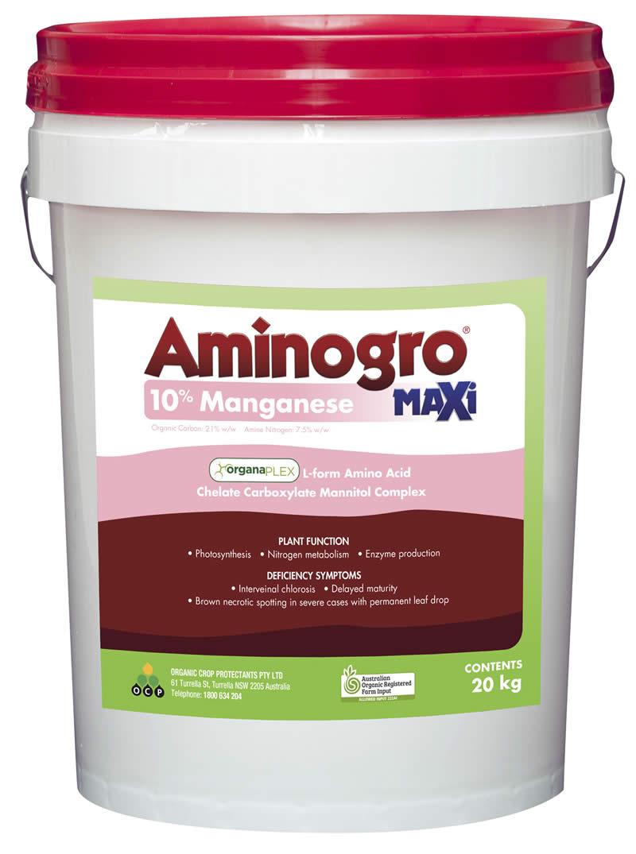 Aminogro MAXi Manganese 10%