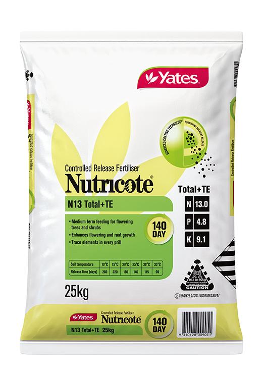 Yates Nutricote N13 Total + TE 140 Day – 13 : 4.8 : 9.1