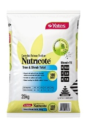 Yates Nutricote Blends Tree & Shrub Total 180 Day - 16.8 : 3.9 : 8.1