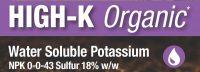 High-K Organic